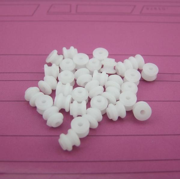 Plastic spullen 62 riem schepen auto onderdelen van speelgoed. Doe een diameter van 6mm opening 2