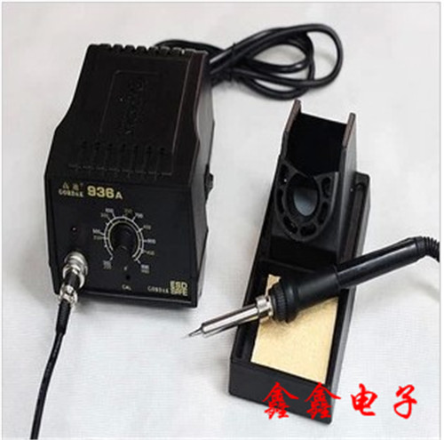 High quality Gaudi 936A constant temperature anti static welding platform, mobile phone computer maintenance constant temperature anti-static electric iron