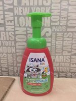 Purchasing German ISANA children watermelon wash, wash liquid two in one, Rossmann supermarket self brand