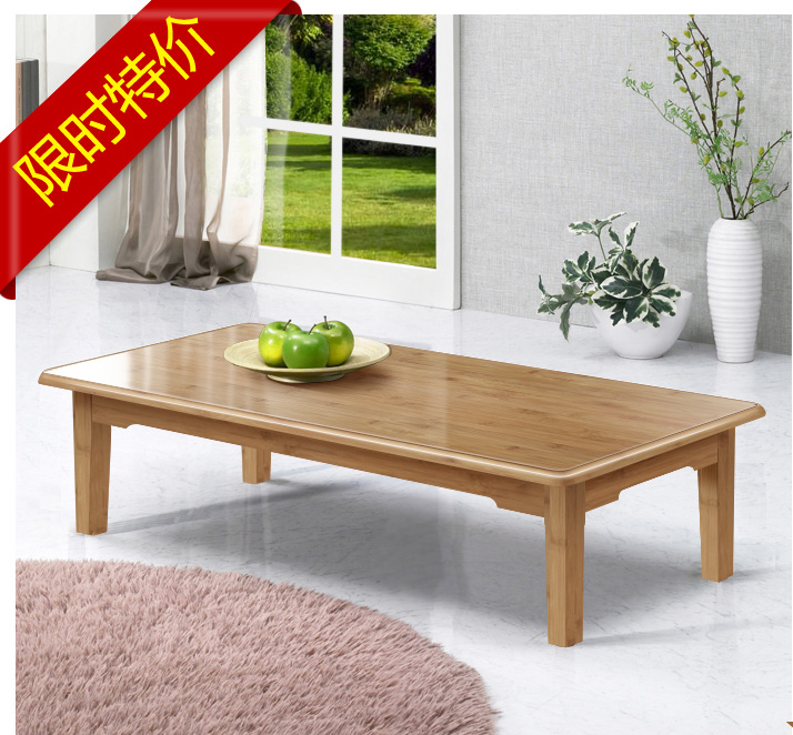 Bamboo wood table a few Kang Kang Kang Table Bed learning table table table table table window tatami table
