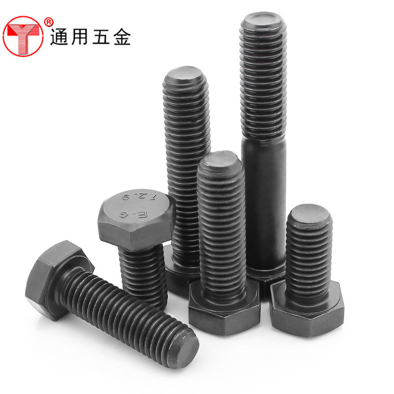 High strength fine tooth outer six angle screw outside the tooth six angle bolt M12*112*1.2512*1.5 tooth
