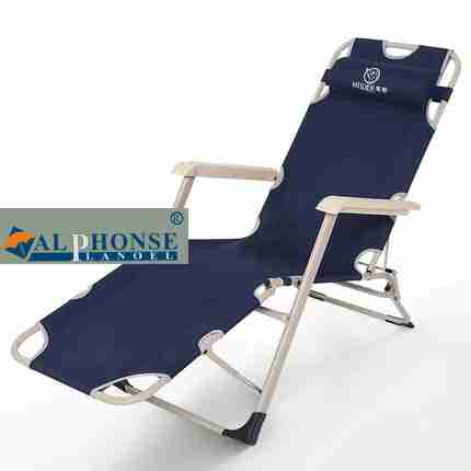 Folding chair chair multifunctional portable outdoor beach chair office adult simple bed lazy nap