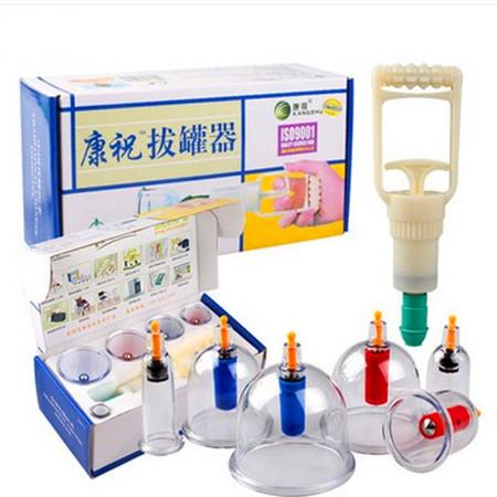 Shipping 6 cans of vacuum cupping Kang Zhu thickening cupping vacuum cupping tank 6 household Kang Zhu