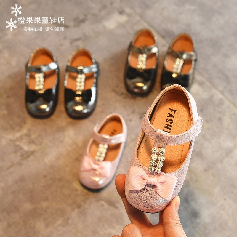 韩版秋季女童鞋皮鞋宝