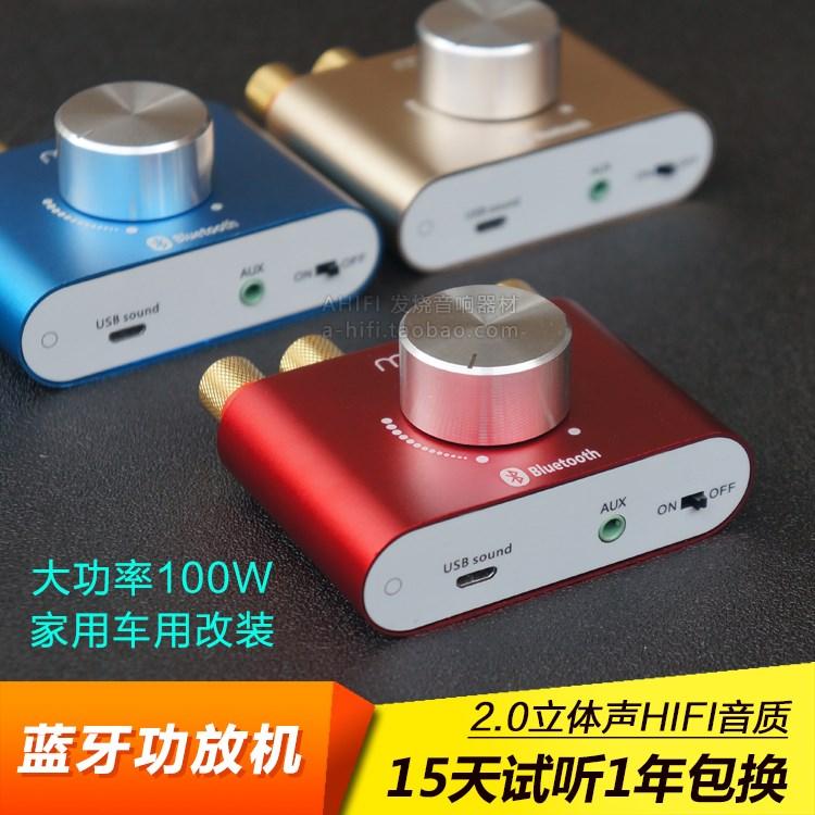 De grote kracht van 100 W versterker champignons Bluetooth bord versterker koorts toon had de mini - TV.