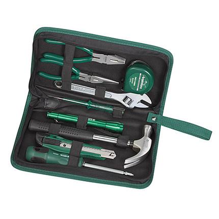 Sata Sata 9 piezas fundamentales de la familia la propiedad con trajes de oficina mantenimiento conjunto de herramientas 06004
