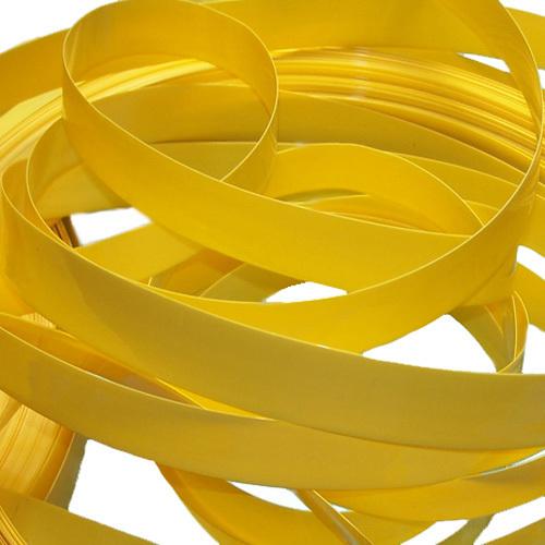 31 mm 20 mm de ancho de color amarillo el tubo de PVC de protección térmica película el paquete de batería de cuero