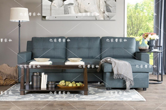 シンプルな現代布製ソファベッドルーム、ソファベッドルーム、ソファベッドルーム