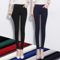 2017 spring real women's trousers, fashion new candy, 7 color, body base pants, wear small pants, women