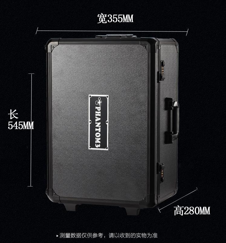 skræddersyede aluminium værktøjskasse / aluminium alloy rod kasse / luft omsætning kasse / vise kasse / metal box er