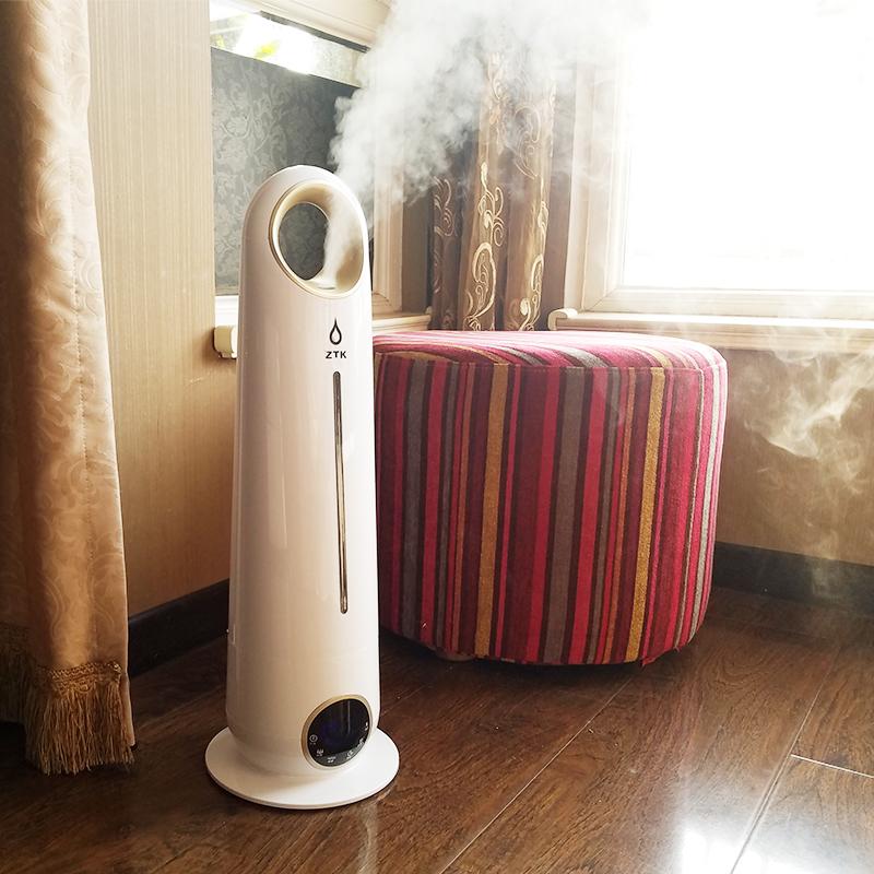 a padlózat típusa párologtató háztartási. néma hálószoba az aromaterápiás gép terhes kis levegő tisztítására