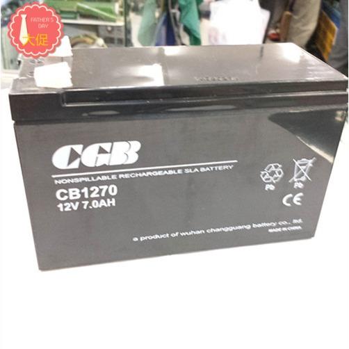 аккумуляторные батареи 12V7AH оптического CB1270CGB пожарных принимающих батареи UPS батареи аутентичные