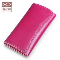 Stupid fish Ms. Long Wallet DIY creative leather materials bag wallet Tanning Leather Handmade custom Wallet