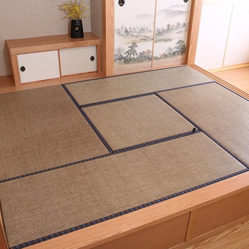 Tatami mats and custom rattan seats mattress m Japanese platform customized coconut coir mat mat