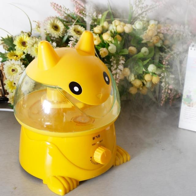 The office desktop humidifier mute Mini cute cartoon small bedroom home air purifier