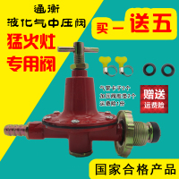 Water heater high pressure valve furnace liquefied petroleum gas medium pressure reducing valve regulator, low pressure valve, medium pressure valve, high pressure valve