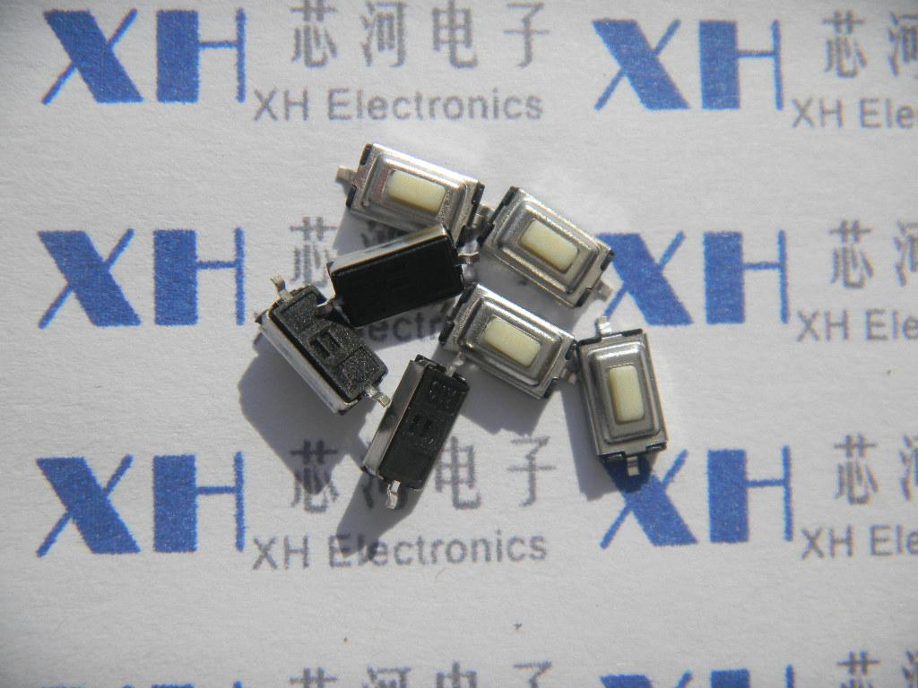 lilla nyckeln lätt byta plåster 3*6*2.5mm röra knappen på två ben - - knapp knapp