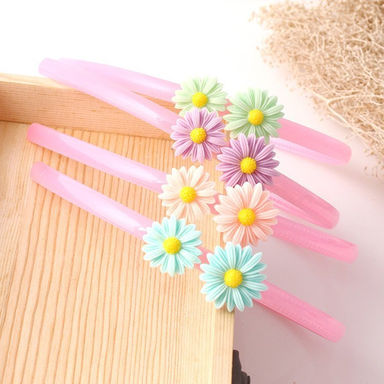 5 shipping girl children quality hoop Daisy small gift hat with good quality is not easily broken tooth slip
