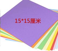 Folding paper roses material square children origami origami love rose 15*15cm