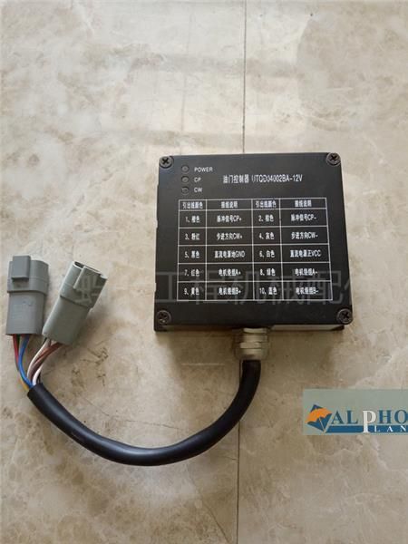 Paso de autentico yuchai Excavator parts original motor acelerador electrónico controlador de velocidad