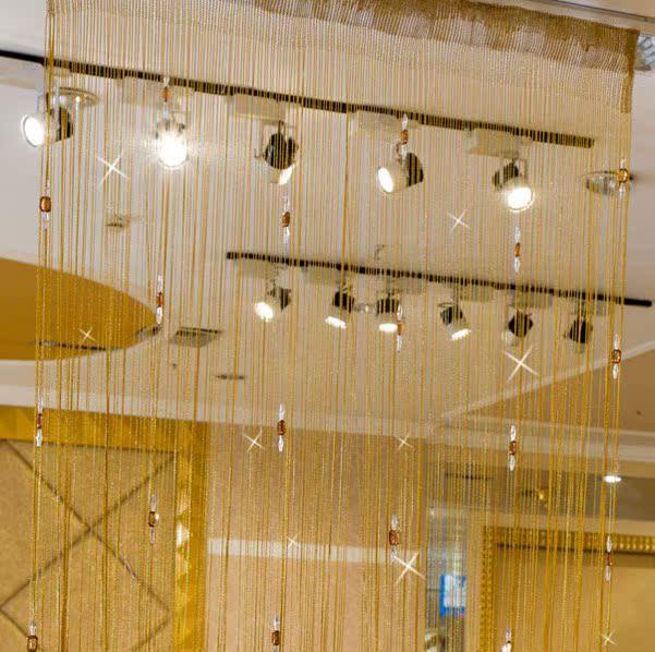 De kralen Amerikaans - open mug gordijn gordijn. Lijm gordijn bamboe gordijn winkel kleedkamer deur.