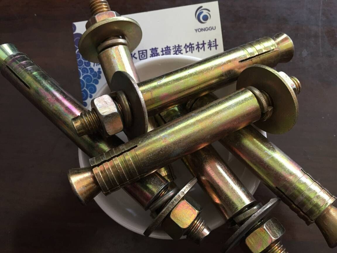 Special expansion thickening high strength expansion screw M10M12M16 for elevator after expansion of elevator
