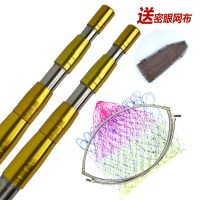 A stainless steel rivet reinforced thick fishing rod 3 meters 4 meters a fishing rod telescopic fishing net