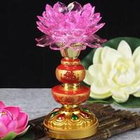 For the temple for the light lotus lamp light LED lamp headlights Zhaocai Buddha