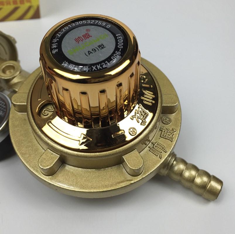 Đưa bảng thể điệu nhà bếp gas dầu khí hóa lỏng khí van giảm áp Van van giảm áp chế áp vỏ ga gói bưu