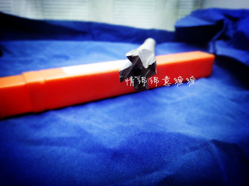 Factory direct selling merchandise with steel tungsten carbide taper shank lengthened reamer 16H8