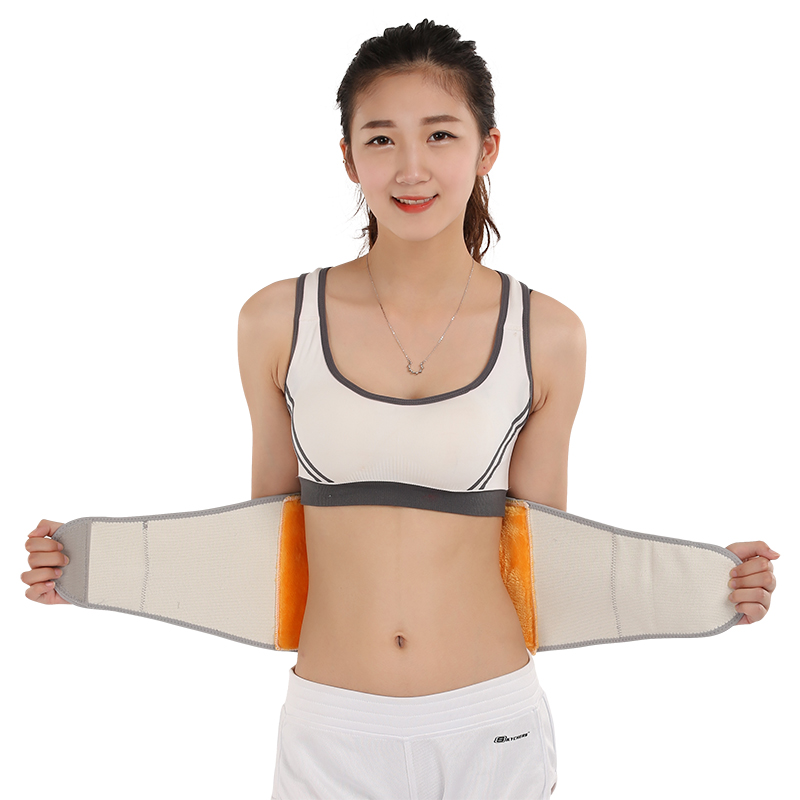 Cashmere thermal protection belt waist care nursing belly protecting stomach girdle Plush warm house with men and women in autumn and winter