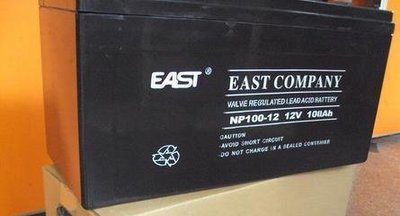 EAST battery 12V100AHNP100-12UPSEPS power supply DC panel special battery