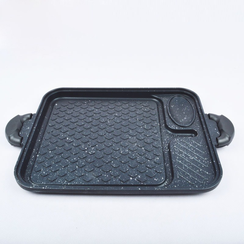 Korean multi-function baking pan, non sticky barbecue grill, home appliance oven, gas oven, baked pot