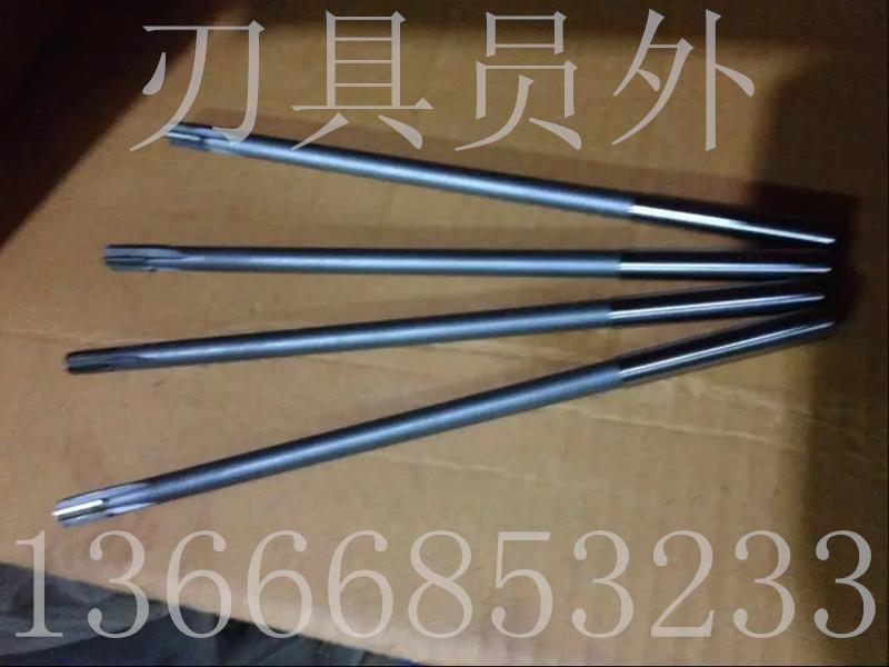 Non standard made straight shank taper shank lengthened reamer, alloy lengthening machine reamer 13 ~ 250300400500
