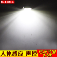 Solar lamp, outdoor street lamp, home indoor waterproof wall lamp, courtyard lamp, super bright human body induction lamp
