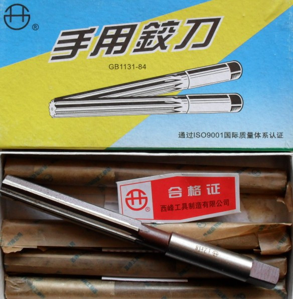 Straight shank hand reamer 3/4/5/6/7/8/9/10/11/12-40mm (Xifeng instruments) quality assurance