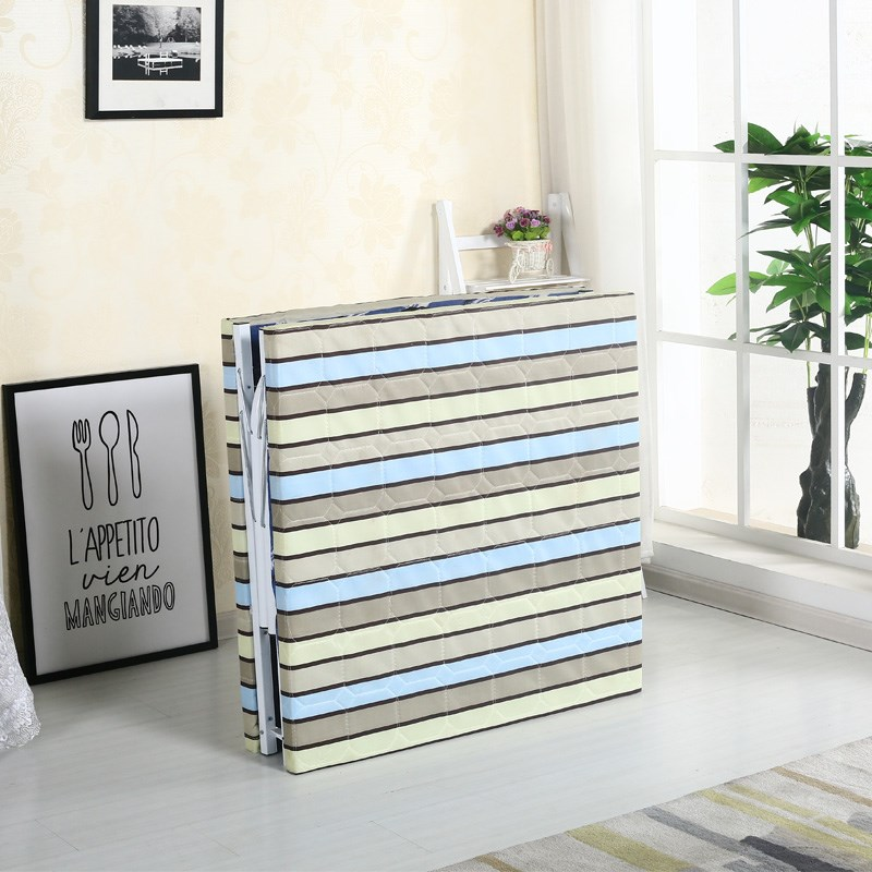 Folding bed single bed contraction type bed bed bed board bed home lunch bag mail adult multi function