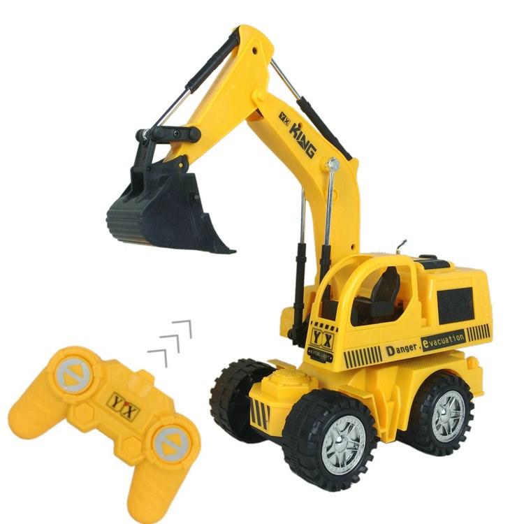 Kinder - spielzeug für jungs gedrängt graben Bagger - elektrischen fernbedienung auto - Modell für Kinder im Alter von 1 bis 4 2.