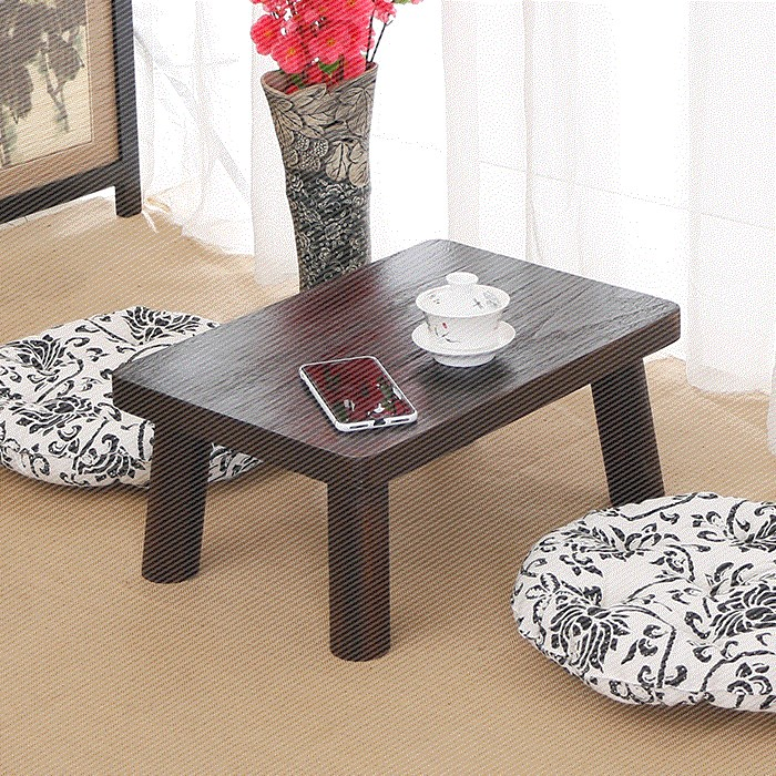 The balcony table hot Ancient Chinese Literature Search all wood tatami small tea table above the bed table table table table household windows platform