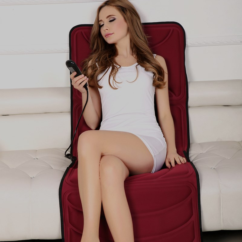 enron - halskotan massager systemisk multifunktionella massage kudde nacke, axlar, ben tillbaka hem stolen -