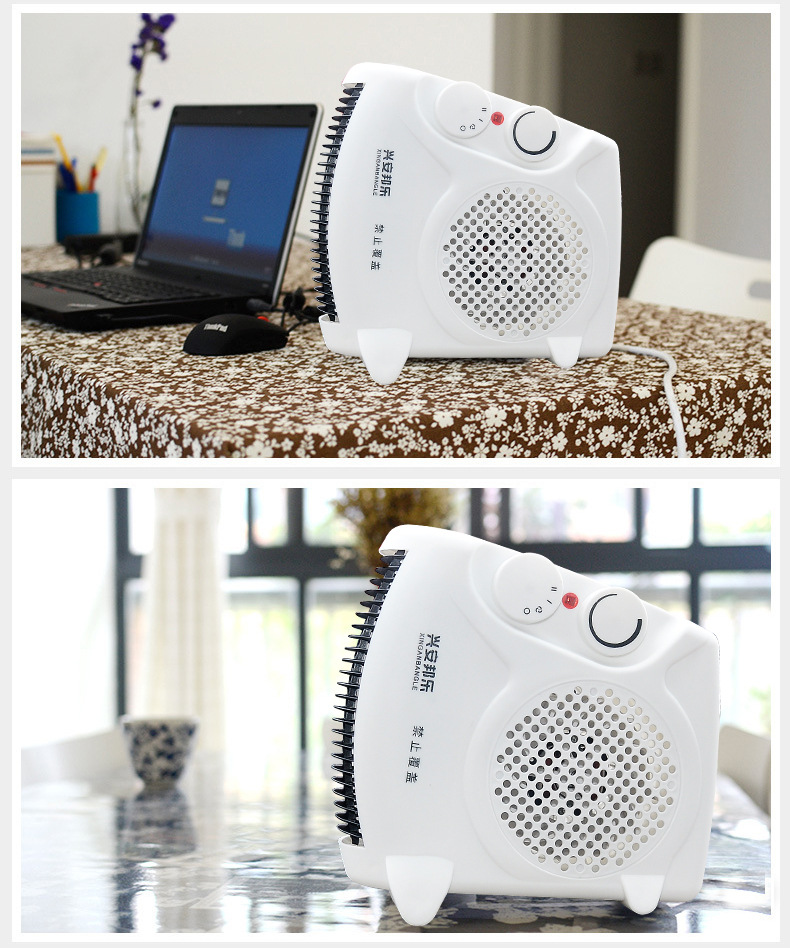 Mini mini air conditioner, warm air machine, small energy saving household electric heater, office cooling and heating