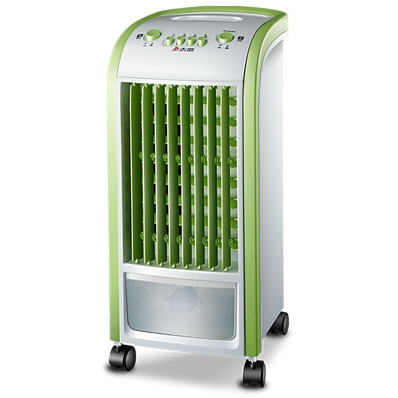 신형 물을 부채 냉동 에어컨 리모컨 가정용 음소거 单冷 선풍기