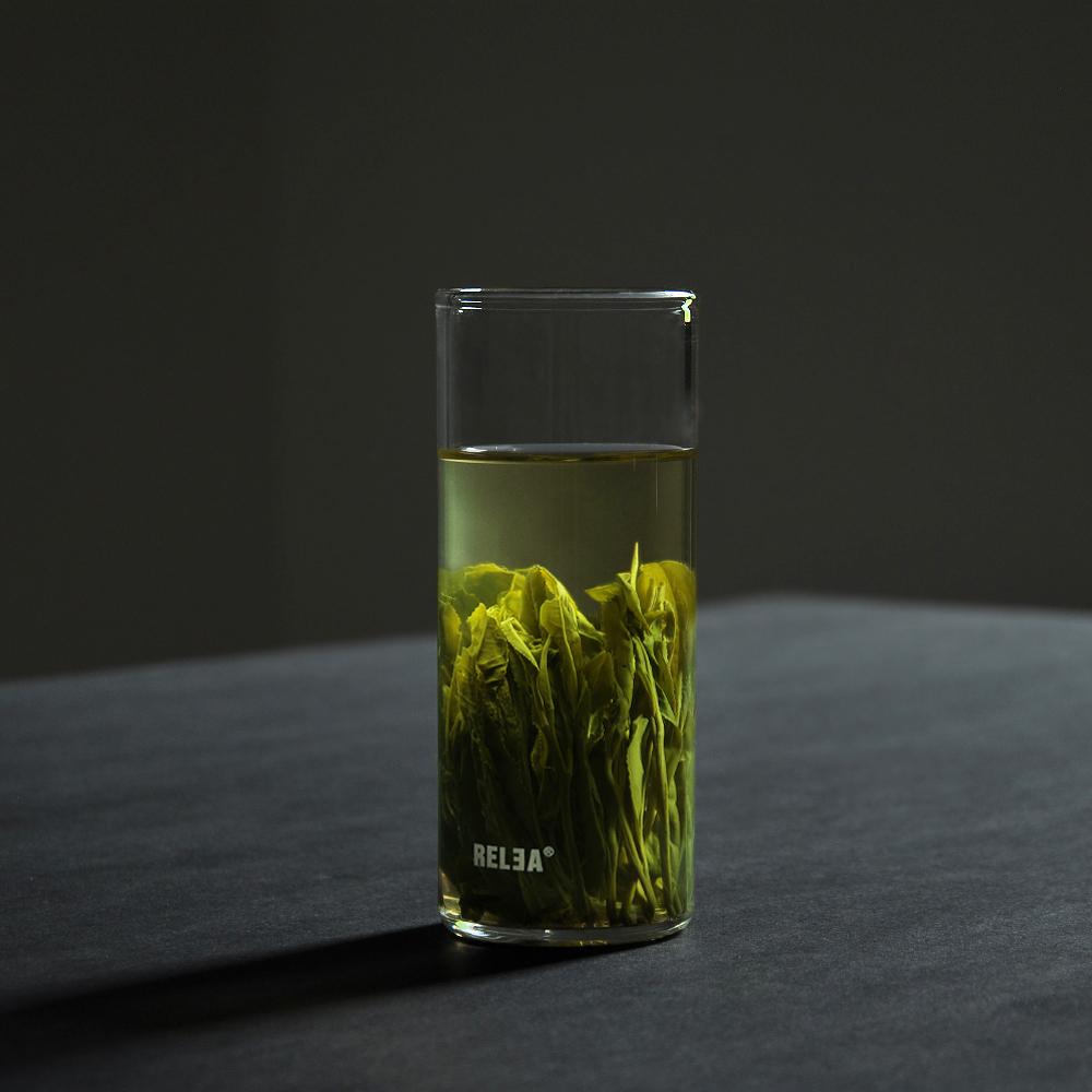 春泥高硼硅玻璃杯茶杯耐熱水杯耐高溫品泡茶杯杯子品茗杯