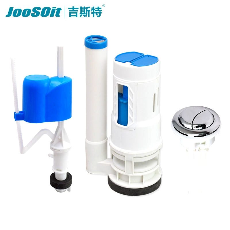 Geest old toilet accessories drain valve connected toilet flushing water inlet valve button set