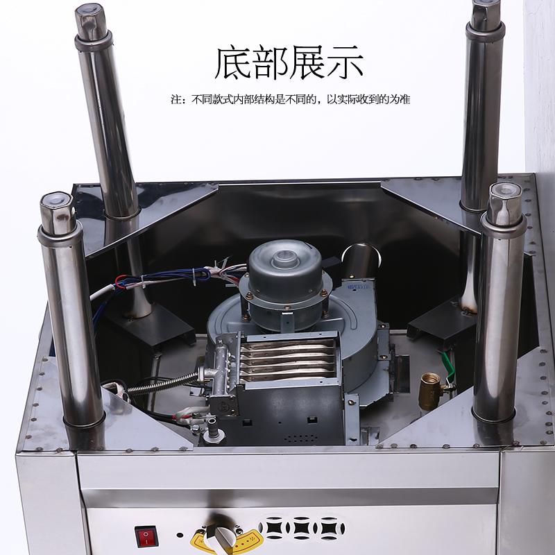 Three steam oven plug steam boiler steam solenoid valve commercial stainless steel stuffing machine ball float steam engine fire