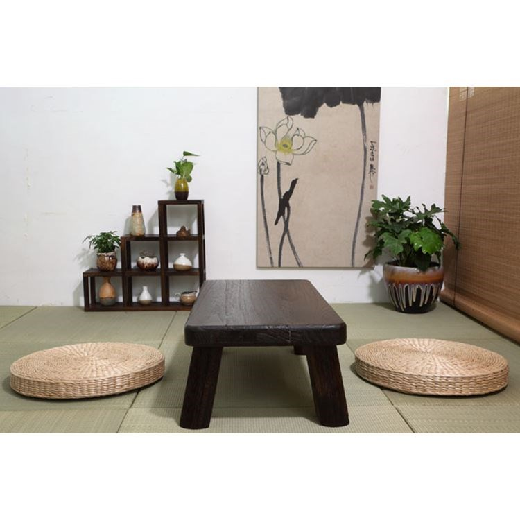 Japanese tatami wood coffee table table bed Piaochuang computer desk a few short a few Kang Kang Table