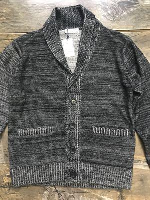 日本轻奢品牌针织衫 青果领羊毛衫男士百搭毛衣原单