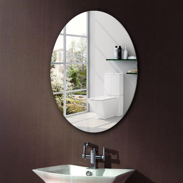 povečevalno ogledalo okras na stranišču ogledalo, ki visi na zidu visi v kopalnici, malo ličila, očala, kombinirani