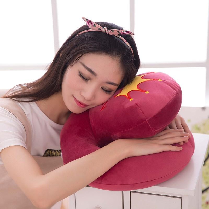 中学生昼寝ざぶとんオフィス伏せ寝実験室枕防麻快適すこし伏せるの枕枕のクッションは昼休み包郵