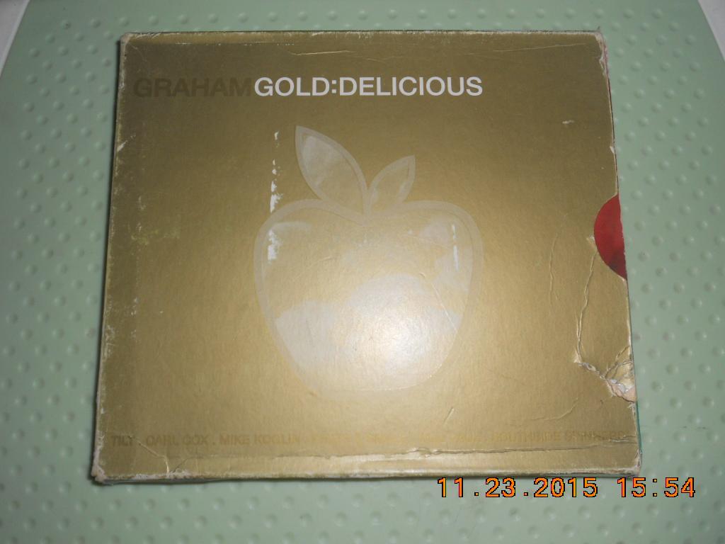 欧米2CDGRAHAM-GOLD:DELICIOUS原版